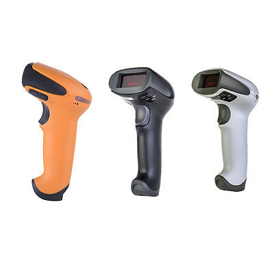 Handheld Wireless Bluetooth USB Laser Barcode Scanner Bar Code Reader For PC IOS