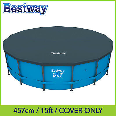 Bestway Premium PVC Pool Cover for 4.57 x 1.22m / 15ft Round Pool - 58038