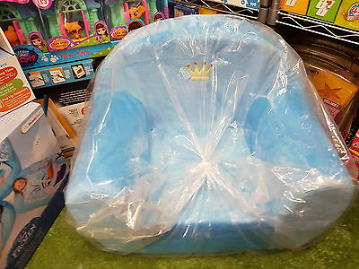 Prince Boys Kids Childs Childrens  Sofa ~ Blue Lounge Chair Seat ~ Gift Idea