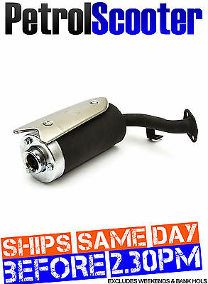 Midi Mini Pocket Bike Gas Scooter Engine 43cc 49cc Exhaust Muffler Can Goped