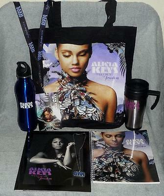Alicia Keys Element of Freedom Tour 2010 Concert VIP Gift Package, The Voice