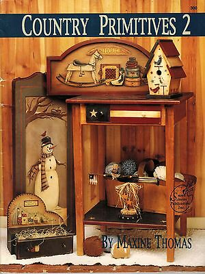 Tole Decorative Painting Country Primitives 2 Maxine Thomas Christmas Book