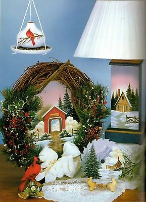 Tole Decorative Painting HOME FOR ALL SEASONS V6 Debbie Toews Cottage Book