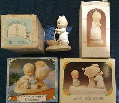 Precious Moments Figurines - Lot of 5. Lot# PM21