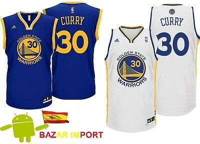 Camiseta Golden State Warriors Nba Stephen Curry 30 Kevin Durant - Todas Tallas