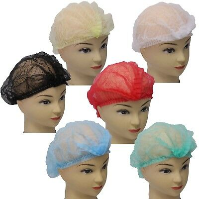 Yes!Fresh, 100 disposable Non-woven Clip Caps Mob caps hairnets head cover