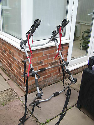 Halfords High Rise Bike Rack Cycle Carrier For 3 Bikes