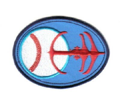 Star Trek: Deep Space Nine DS9ers Baseball Logo Embroidered Patch, NEW UNUSED
