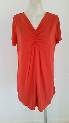Mammy Village - Bnwt - Sz M Burnt Orange Maternity Tee Shirt