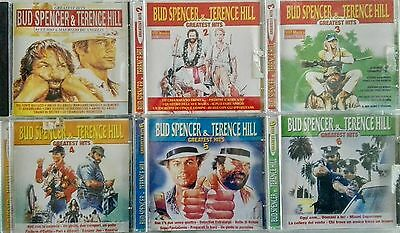 BUD SPENCER & TERENCE HILL lotto stock 6 cd originali