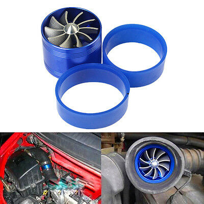 Car SUV Supercharger Turbine Turbo Saver Fan Charger Air Filter Intake Fuel Gas