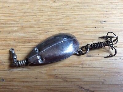 A Scarce Small Allcock  Collapsing Spoon. Lure