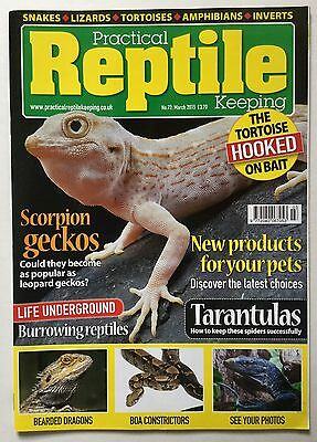 Practical Reptile Keeping No. 72 March 2015