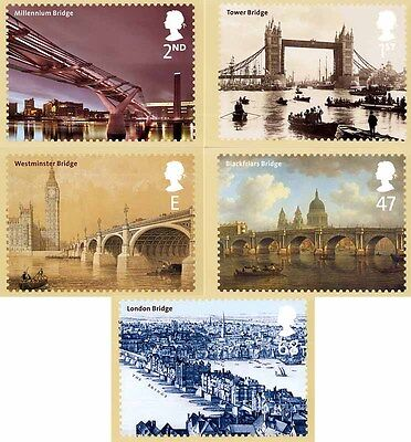 Gb Postcards Phq Cards Mint No. 245 2002 The Bridges Of London 10% Off 5+