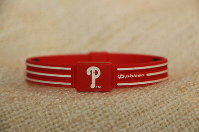 MLB Philadelphia Phillies titanium infused wristband,free post and free gift inc