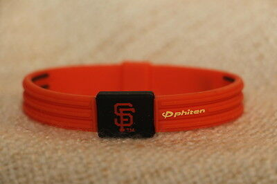 MLB San Francisco Giants titanium infused wristband,free post and free gift incl