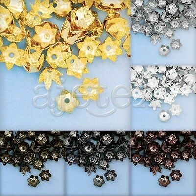 10g Metal Cone Beads End Caps Jewelry Finding Spacer 7x3.5mm