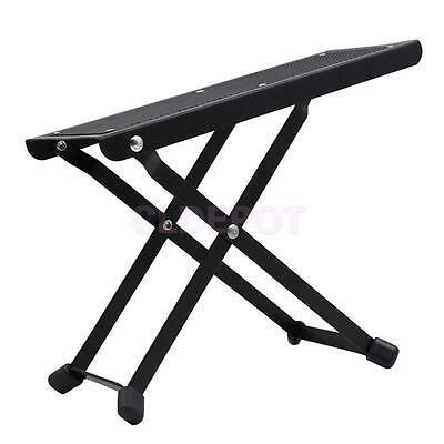 Folding Guitar Foot Rest Foot Pedal 6-level Height for Guitar Perform