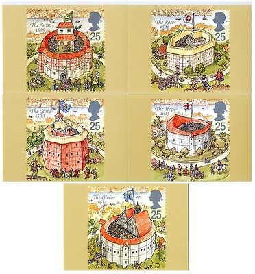 Gb Phq Cards Mint No. 172 1995 Shakespeare's Globe Theatre  10% Off 5+