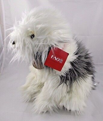 "FAO Sheep Dog Plush 12"" Toys R Us"