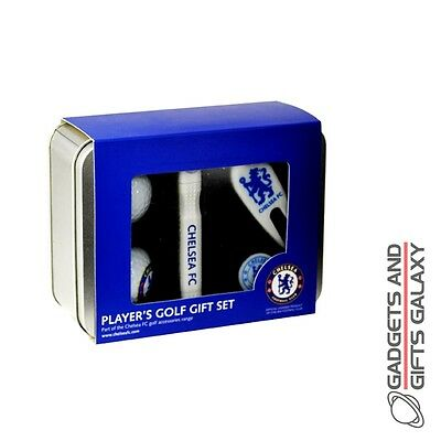 OFFICIAL LICENSED CHELSEA FC PLAYERS GOLF GIFT SET FOOTBALL SPORT Accessory