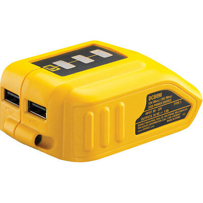 DeWalt DCB090 USB Battery Adaptor