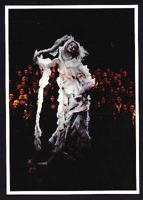 Fashion Design Alexander McQueen Oranza & Tulle Kate Moss V&A Modern Postcard PC