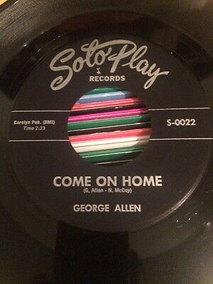Northern Soul George Allen - Come On Home - Solo Play