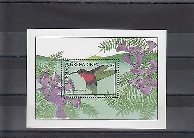 Timbre Stamp  Bloc Grenade Grenadines Y&t#148  Oiseau Neuf**/mnh-Mint 1988 ~A05