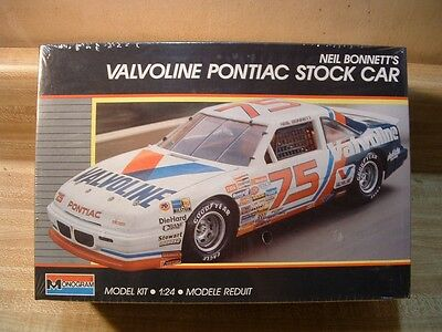 Neil Bonnett's Valvoline Pontiac ~ 1989 Monogram #2787 ~ 1/24 ~ Factory Sealed