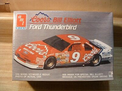 Coors Bill Elliott #9 Ford Thunderbird ~ Amt/ertl #6962 ~1/25 ~ Factory Sealed