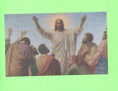 Vintage Calendar Image Disciples Blessing Holy Religios Image