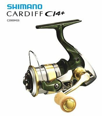Shimano reel 12 Cardiff CI4 + C2000HGS【Japanese fishing reel】