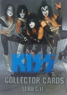 KISS 1998 Series II  COLLECTOR CARD SET of 90 Blue  FOIL PARALLEL CORNERSTONE