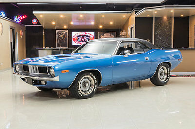 1972 Plymouth Barracuda  Restored Cuda! Numbers Matching 340ci V8 w/ Six Pack, A727 Automatic & More!