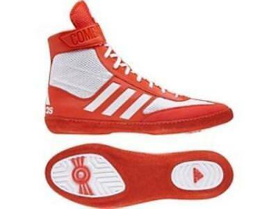 Adidas Wrestling Combat Speed 5 - Red Boots Shoes Adults Mens Pro - BA8008