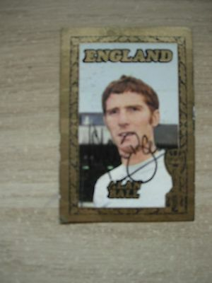 *****everton Fc Alan Ball Signed A&bc Gum Card*****