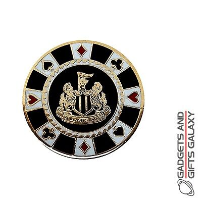 OFFICIAL LICENSED NEWCASTLE UNITED CASINO GOLF BALL MARKER FOOTBALL Gifts