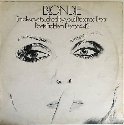 """Blondie - (I'm Always Touched By Your) Presence Dear - Vinyl 12"""" EP 1978 CHS2217"""