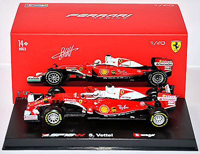 Ferrari SF16-H F1 Ray Ban with Driver #5 Sebastian Vettel 2016 Acryl-Box 1:43 Bb