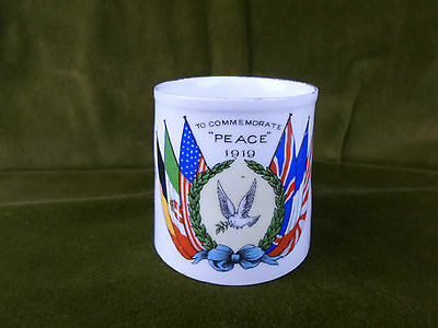 WW1 GREAT WAR PEACE MUG 1919. (Manufactured by AYNSLEY pottery)
