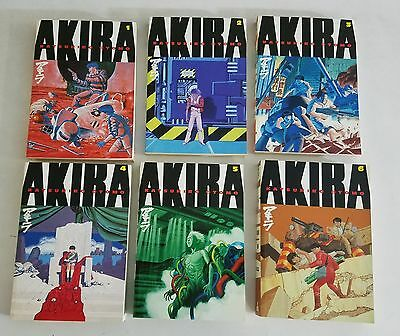 Akira #1-6 Katsohiro Otomo English Manga Set Lot Dark Horse Comics