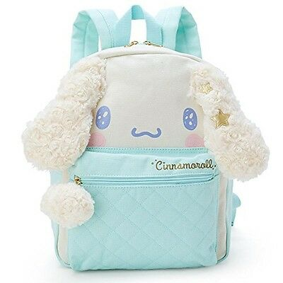 New SANRIO Cinnamoroll face shaped Luc backpack Kira Fuwa Japan With Tracking