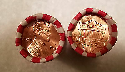 1 Brilliant Uncirculated 2016 P LINCOLN CENT ROLL IN ORIGINAL BANKWRAP 50 coins