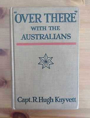 vintage 1918 AUSTRALIA IN WW1 book knyvett