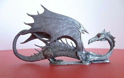 Vintage Ral Partha Pewter Winged Dragon D&D Dungeons & Dragons Figure 1986. RARE