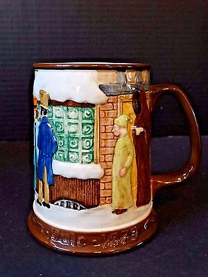 Royal Doulton ~ Christmas Carol Collectors Int'l John Beswick Ltd. 1979 Tankard
