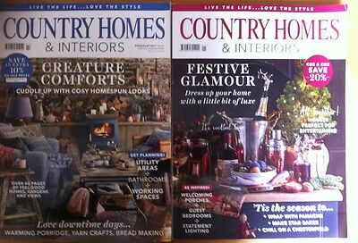 Country Homes & Interiors magazine - January And February 2017 - VGC