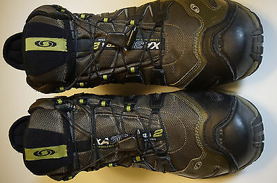 Salomon Gore-Tex hiking boots Men's XA 3D ULTRA 2 Men's US 12 camo green hunting