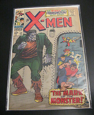 Wow! X-MEN #40 **SUPER NICE!!** (VF+) **A FLAT, TIGHT, BRIGHT, SHINY GEM!**